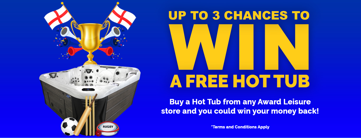 Buy a Hot Tub and Get 3 Chances to Win Your Money Back in out Summer Hot Tub Promotion 2019
