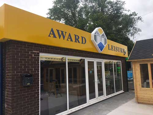 Award Leisure Cheshire Showroom