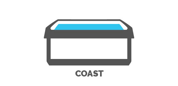 Coast Series Hot Tubs