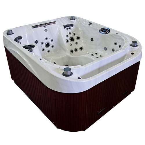 coast spas the horizon 6 person hot tub outdoor heaven. Black Bedroom Furniture Sets. Home Design Ideas