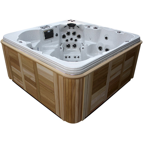 coast spas the wellness i 6 person hot tub outdoor heaven. Black Bedroom Furniture Sets. Home Design Ideas